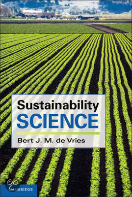 Boekomslag Sustainable Science